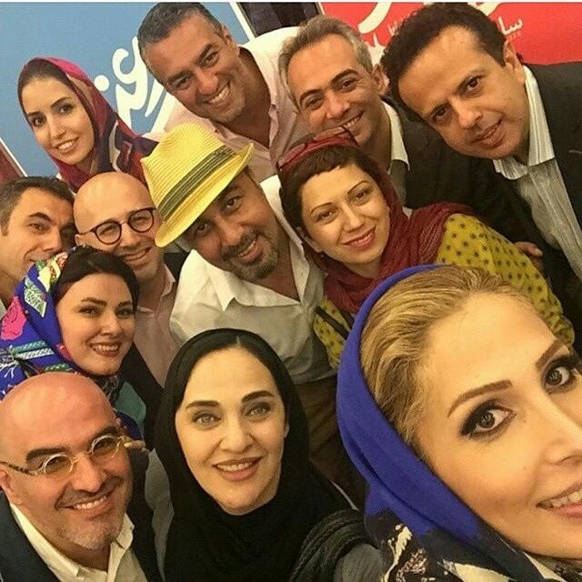 عکس جدید رضا عطاران و همسرش