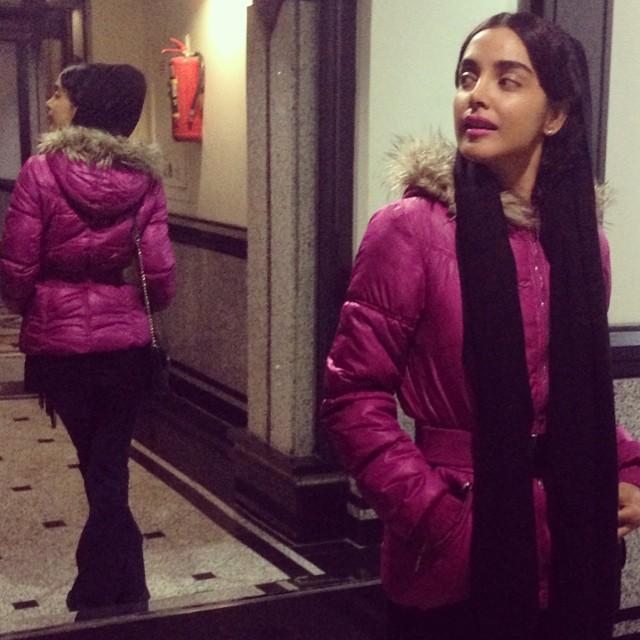 عکس زن ایرانی با ساپورت