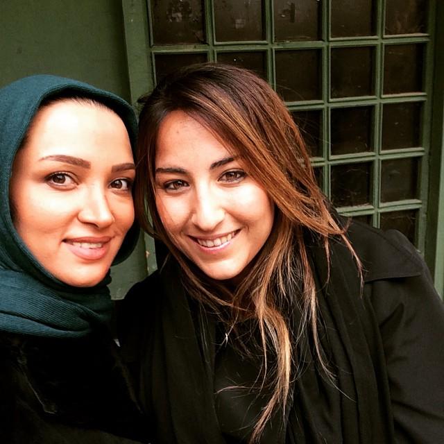عکس روناک یونسی و ارغوان رضایی