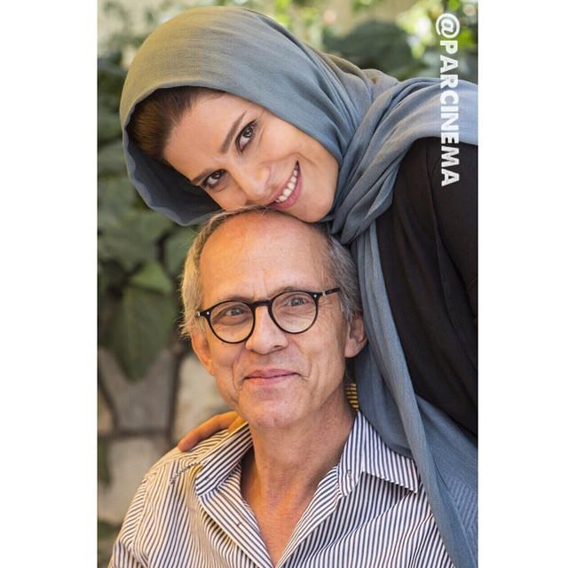 عکس های دیدنی سحر دولتشاهی و پدرش