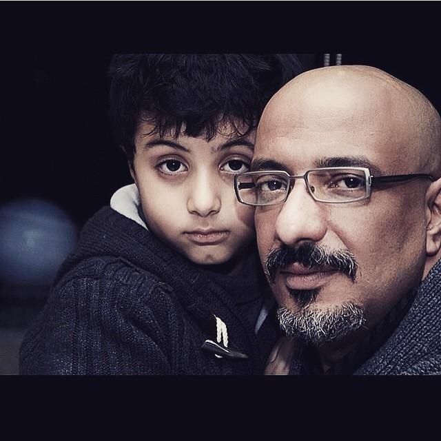 عکس های امیر جعفری و پسرش