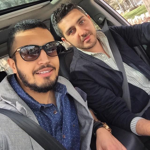 عکس مهرداد صدیقیان و محمدرضا غفاری