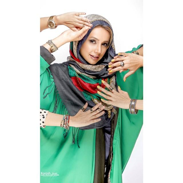 عکس های زیبا و خوشگل شبنم قلی خانی