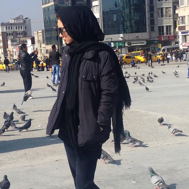 عکس های زیبای شهرزاد کمال زاده در ترکیه