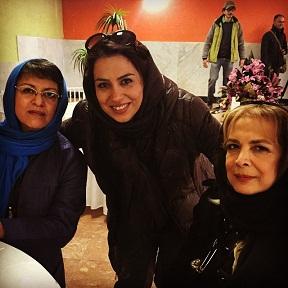 عکس های هنرمندان در بنیاد خیریه کامرانی سالمندان