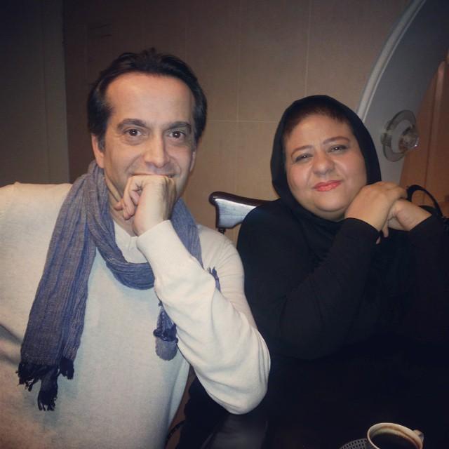 عکس رابعه اسکویی و رامسین کبریتی