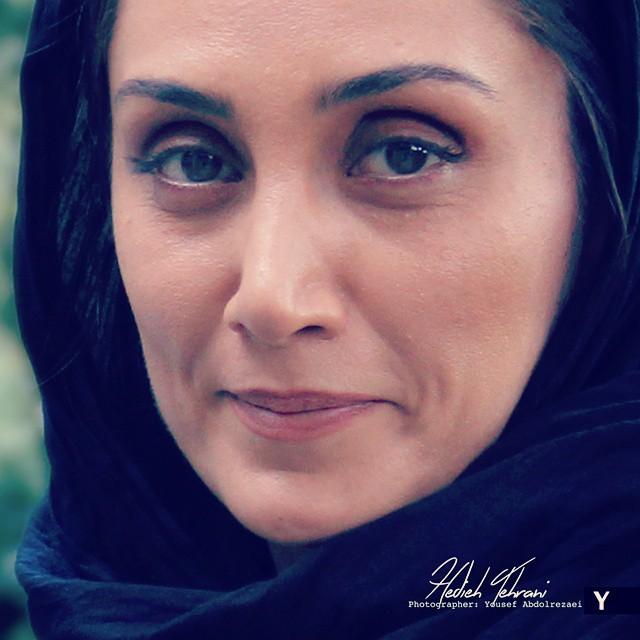 عکس زیبای هدیه تهرانی