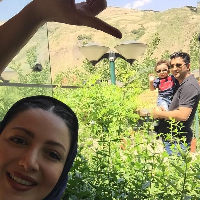 عکس های جذاب شیلا خداداد و خانواده اش