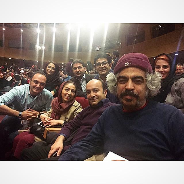عکس های بازیگران در فستیوال فیلم فجر 33
