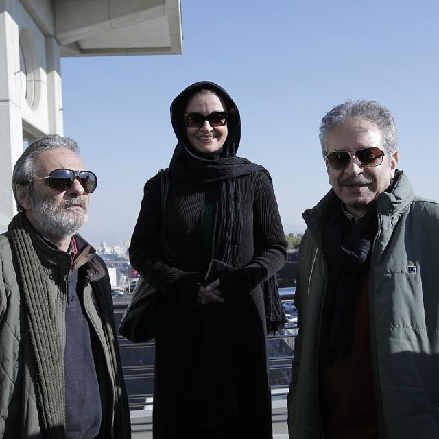 عکس های بازیگران در سی و سومین فستیوال فیلم فجر