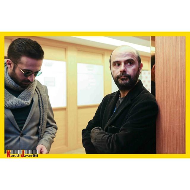 عکس های علی مصفا در جشنواره فیلم فجر 33