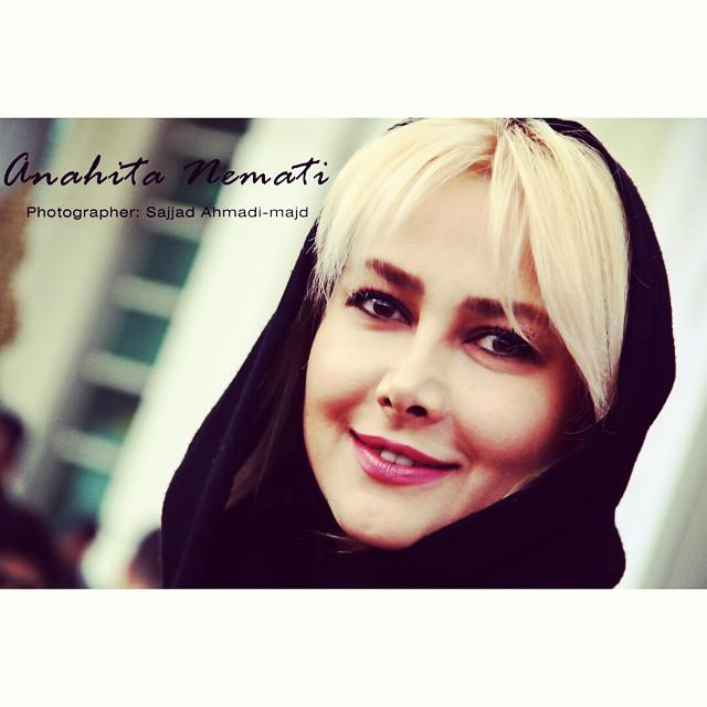 عکس های آنا نعمتی در حاشیه جشنواره فیلم فجر 33