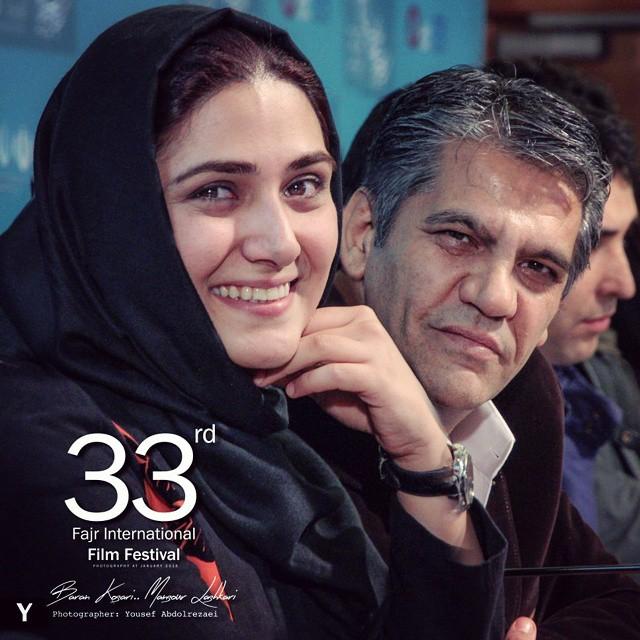 عکس های زیبای باران کوثری در جشنواره فیلم فجر 33