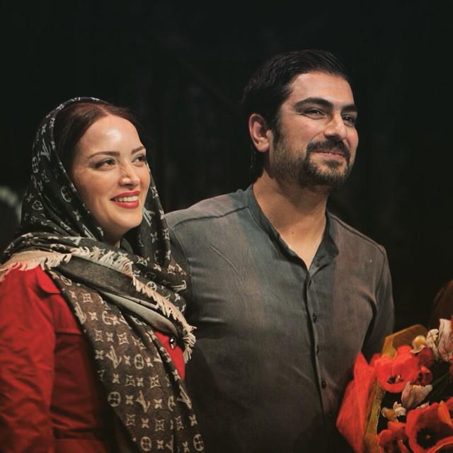 عکس های جدید مهدی پاکدل و همسرش بهنوش طباطبایی