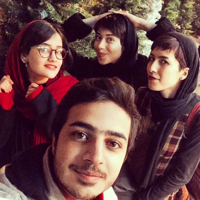 عکسهای جدید حنانه احدی در خرداد ماه 94