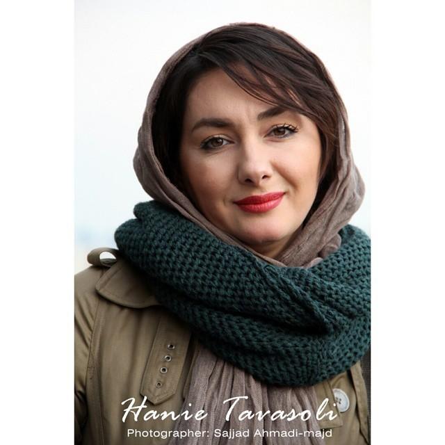 عکس های زیبای هانیه توسلی در جشنواره فیلم فجر 33