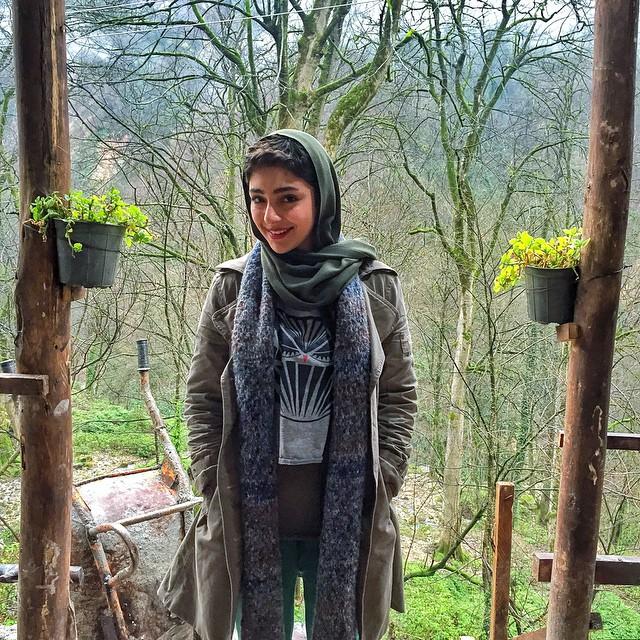 جدیدترین عکس های هستی مهدوی فر (بهمن ماه 93)