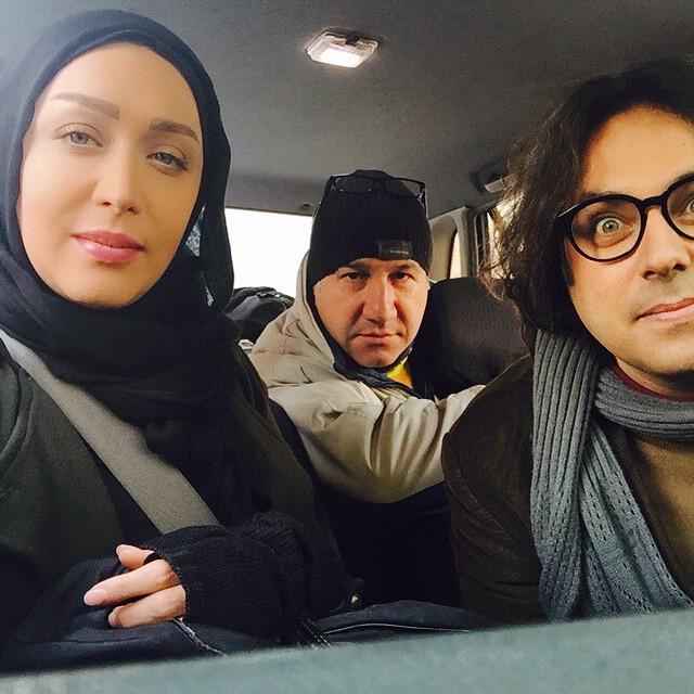 عکس های جالب هلیا امامی و سارا منجری