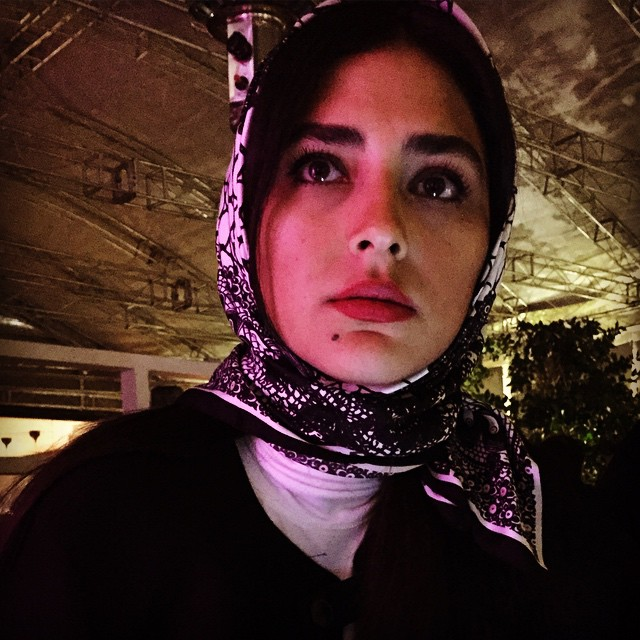 عکس های جدید هدی زین العابدین (بهمن ماه 93)