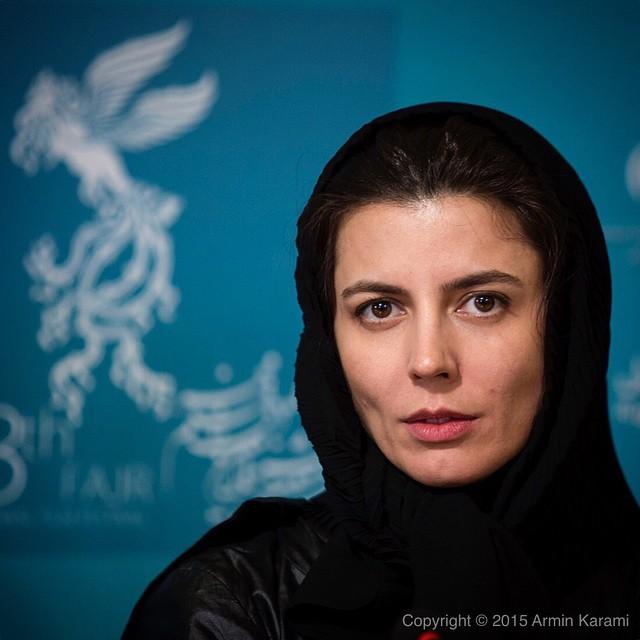 عکس های لیلا حاتمی در سی و سومین جشنواره فیلم فجر