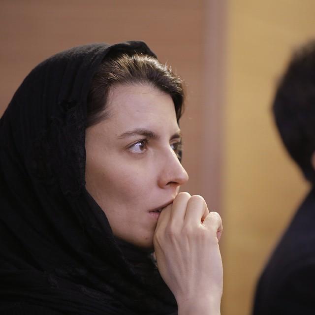عکس های لیلا حاتمی در جشنواره فیلم فجر 33