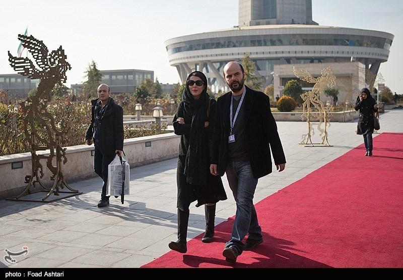 عکس های لیلا حاتمی و همسرش علی مصفا در جشنواره فیلم فجر 33