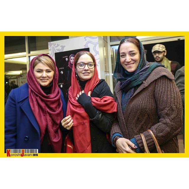 عکس های مهناز افشار در سی و سومین جشنواره فیلم فجر