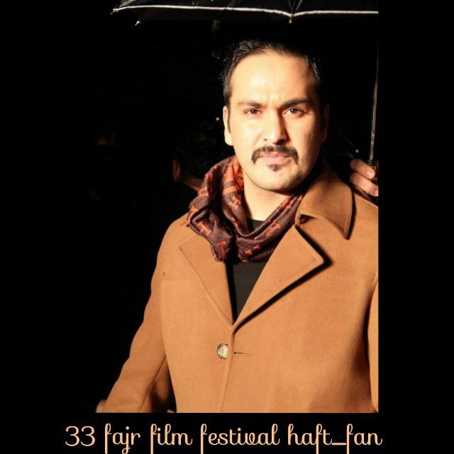 عکس های میلاد کی مرام در مراسم اختتامیه جشنواره فیلم فجر 33