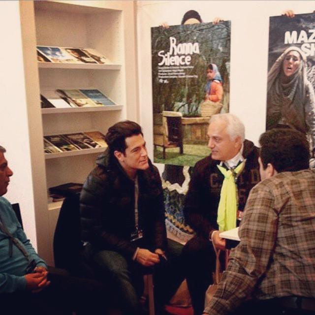 عکس های جدید محمدرضا گلزار در جشنواره فیلم برلین