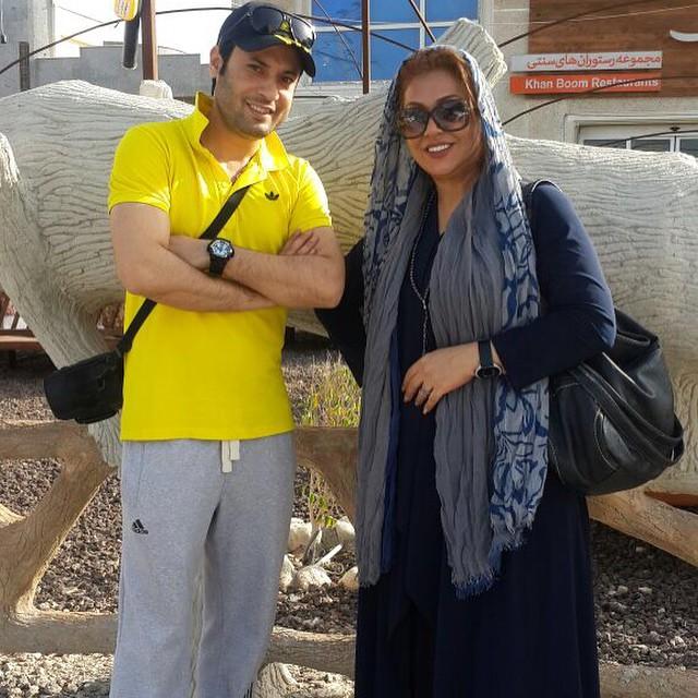سری جدید عکس های نسرین مقانلو در بهمن 93