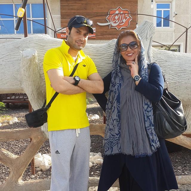 عکس های نسرین مقانلو در بهمن 93