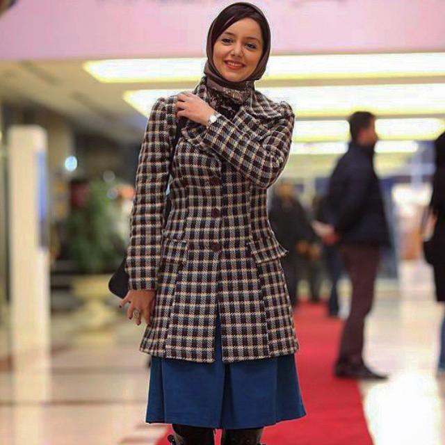 عکس های نازنین بیاتی در جشنواره فیلم فجر 33