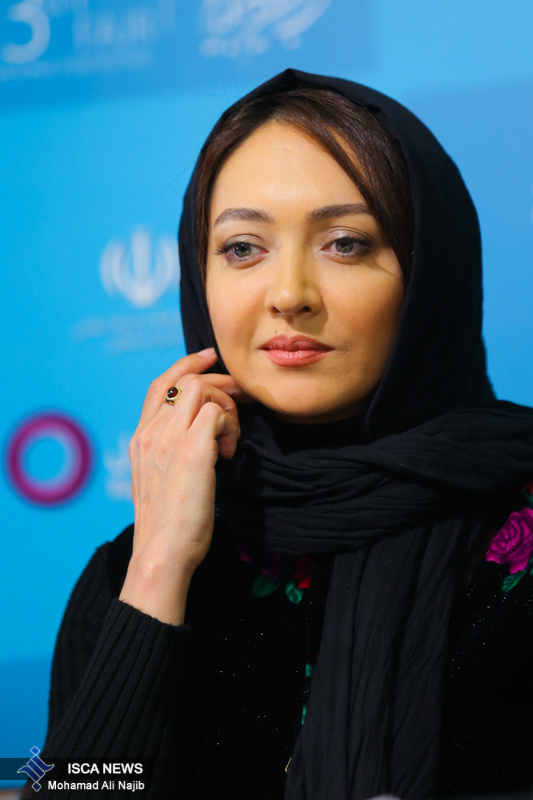 عکس نیکی کریمی در جشنواره کن