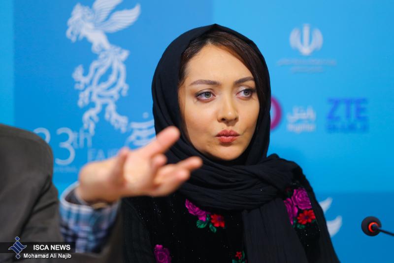 عکس های نیکی کریمی در جشنواره فیلم فجر 33