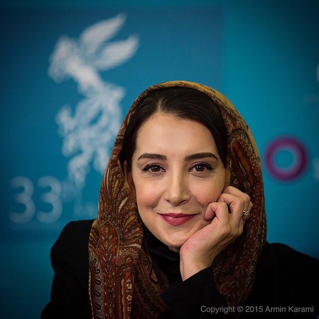 عکس های سحر جعفری جوزانی در جشنواره فیلم فجر 33