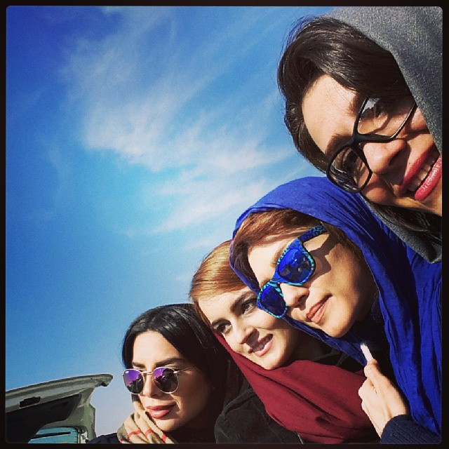 جدیدترین تصاویر شهرزاد کمال زاده در بهمن 93