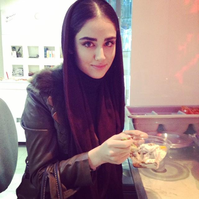 عکسهای جدید هانیه غلامی در خرداد 94