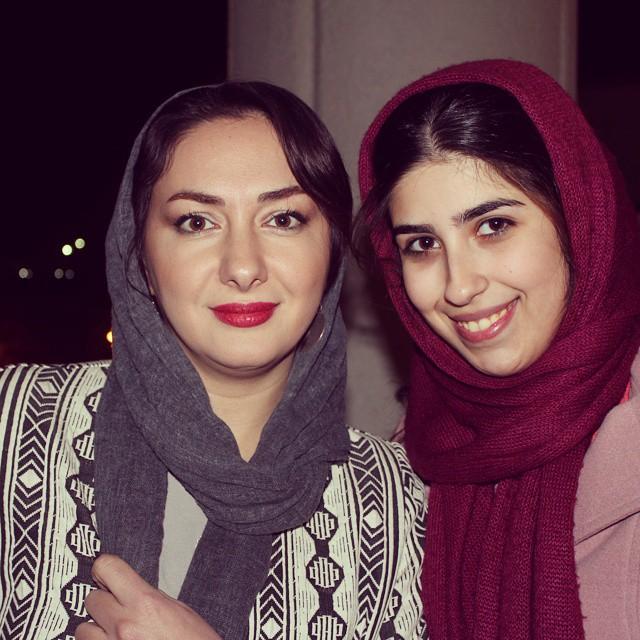 عکس های هانیه توسلی در افتتاحیه جشنواره فیلم فجر 33
