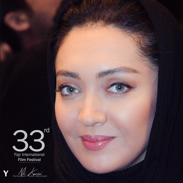عکس های نیکی کریمی در افتتاحیه جشنواره فیلم فجر 33