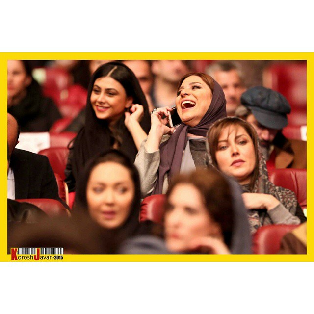 عکسهای سحر دولتشاهی در افتتاحیه جشنواره فیلم فجر 33