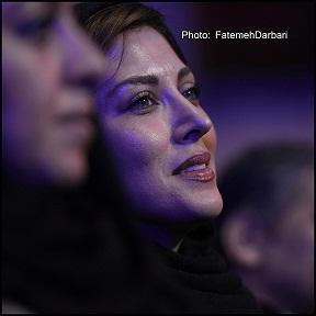عکس های بازیگران در مراسم اختتامیه سی و سومین جشنواره فیلم فجر
