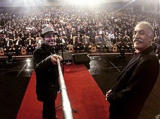 عکس های سلفی بازیگران در مراسم اختتامیه جشنواره فیلم فجر 33