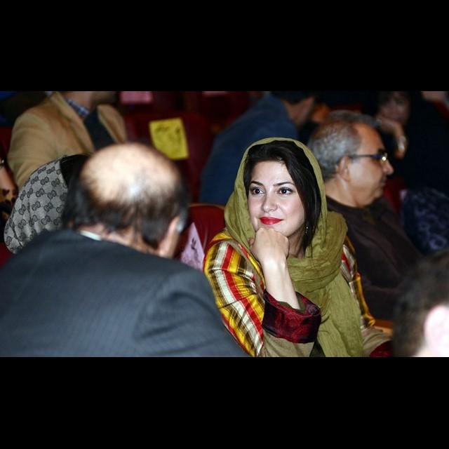 عکس های طناز طباطبایی در افتتاحیه جشنواره فیلم فجر 33