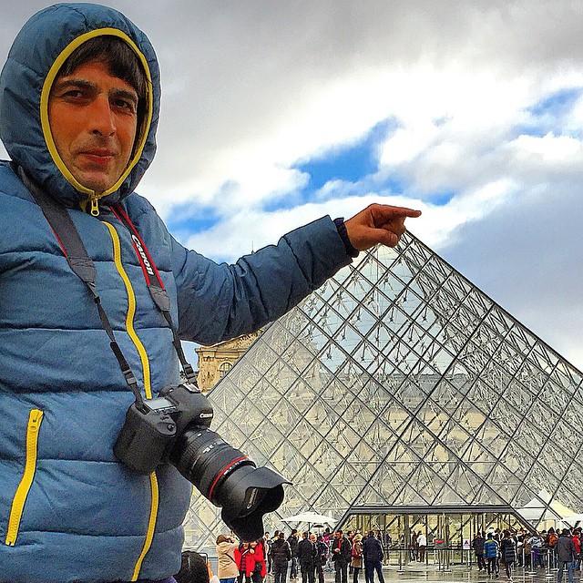 عکس های جدید حمید گودرزی در فرانسه