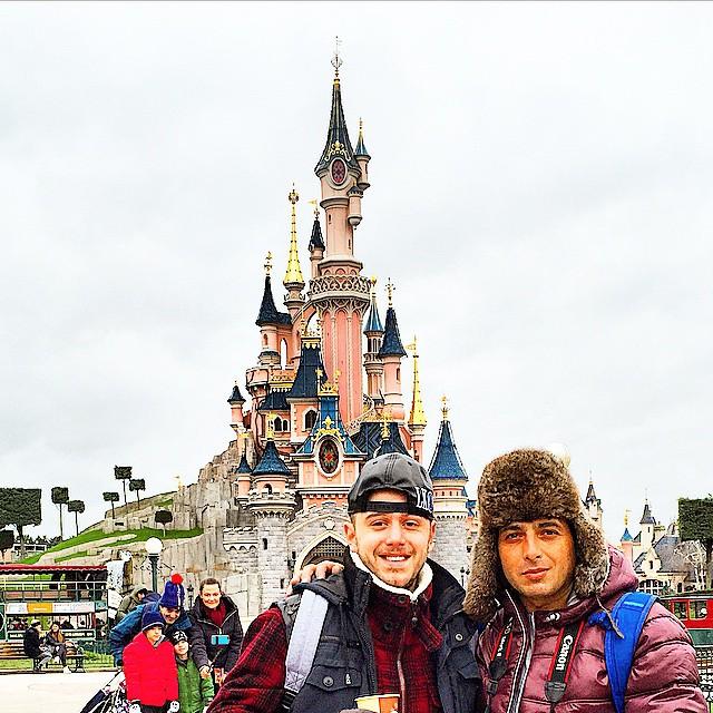 عکس های جدید hamid goudarzi در فرانسه
