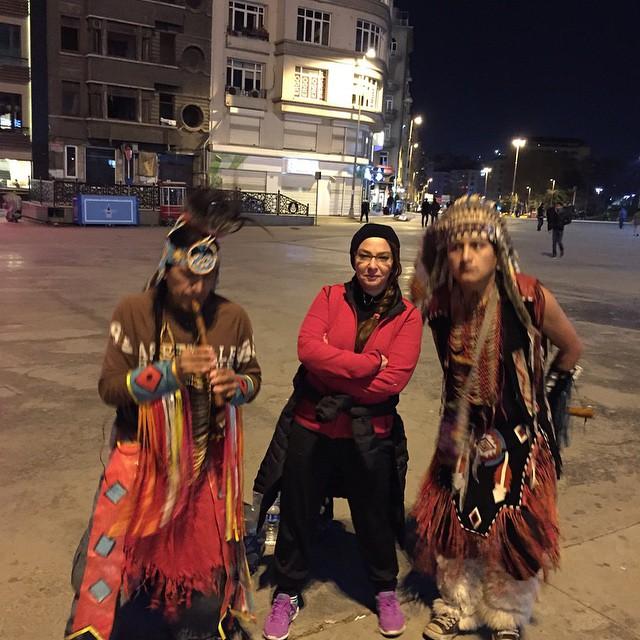 عکس های جدید laleh saboori در خارج از کشور