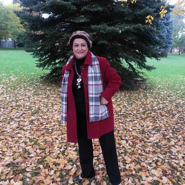 عکس های مريم اميرجلالی در کانادا