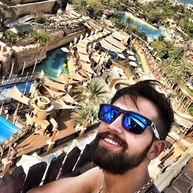 عکس های محسن افشانی در دبی