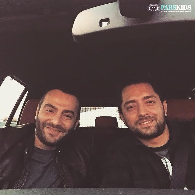 عکس جدید بهرام رادان و یاس