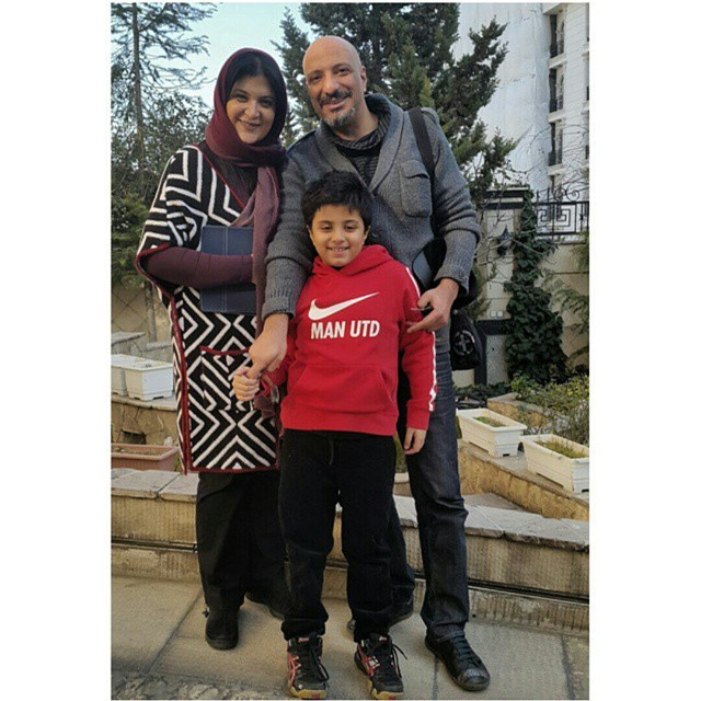 عکس جدید امیر جعفری و همسرش ریما رامین فر و پسرشان